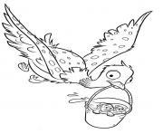 becky le monde de dory dessin à colorier