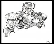 iron man 39 dessin à colorier