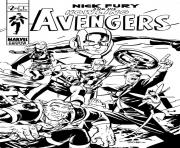 Coloriage avengers 293