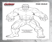 Coloriage avengers 119