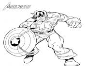 Coloriage avengers 3