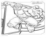 avengers hulk dessin à colorier
