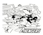 Coloriage marvel avengers 44