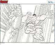 Coloriage avengers 19