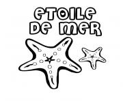 Coloriage mer maternelle