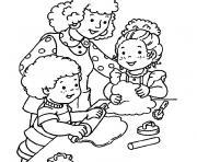 maternelle automne dessin à colorier