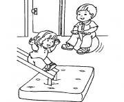 rentree maternelle les enfants dessin à colorier