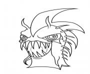 slugterra dark urchin dessin à colorier