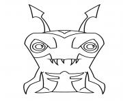 slugterra nightgeist dessin à colorier