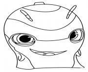slugterra slicksilver dessin à colorier
