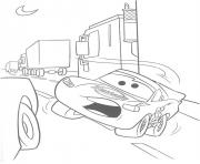Coloriage flash mcqueen flash mc queen derape