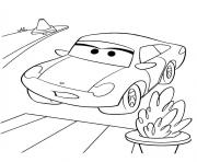 Coloriage flash mcqueen csally