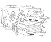 Coloriage flash mcqueen rusteze