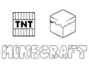 Coloriage minecraft a colorier