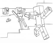 Coloriage Minecraft à Imprimer Dessin Sur Coloriage Info
