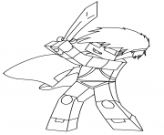 Coloriage skydoesminecraft by 11icedragon11