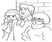 scooby doo 233 dessin à colorier