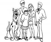 scooby doo 243 dessin à colorier