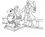 scooby doo 249 dessin à colorier
