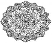 Coloriage coloring free mandala difficult adult to print 10  dessin
