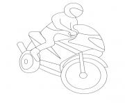 moto 139 dessin à colorier