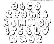 alphabet maternelles complet dessin à colorier