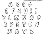 alphabet maternelles scratch bash dessin à colorier