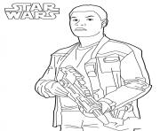 Coloriage Finn star wars 7
