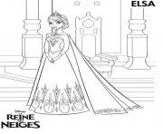 Coloriage La Reine Des Neiges A Imprimer Gratuit Sur Coloriage Info