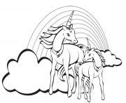 licorne ailes tete mignon 78 dessin à colorier
