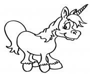 licorne ailes tete mignon 115 dessin à colorier