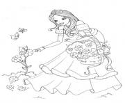 Coloriage disney princesse 5