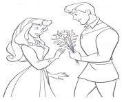 aurore princesse 279 dessin à colorier