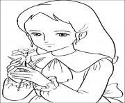 princesse sarah 141 dessin à colorier