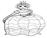disney princesse 70 dessin à colorier