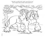 disney princesse 226 dessin à colorier