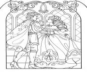 Coloriage disney princesse 244