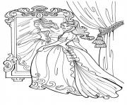 Coloriage disney princesse 173