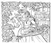 disney princesse 285 dessin à colorier