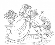Coloriage disney princesse 170