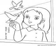 princesse sarah 89 dessin à colorier