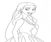 Coloriage disney princesse 182
