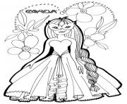 Coloriage disney princesse 48