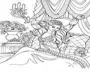Coloriage disney princesse 67