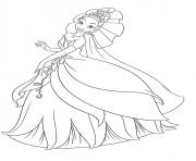 Coloriage disney princesse 107