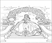 Coloriage disney princesse 29
