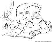 princesse sarah 138 dessin à colorier