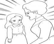 princesse sarah 27 dessin à colorier