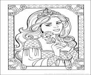 Coloriage disney princesse 125