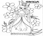 Coloriage disney princesse 83